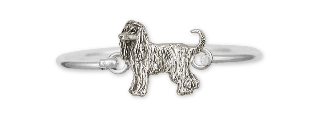 Afghan Hound Charms Afghan Hound Bracelet Sterling Silver Dog Jewelry Afghan Hound jewelry