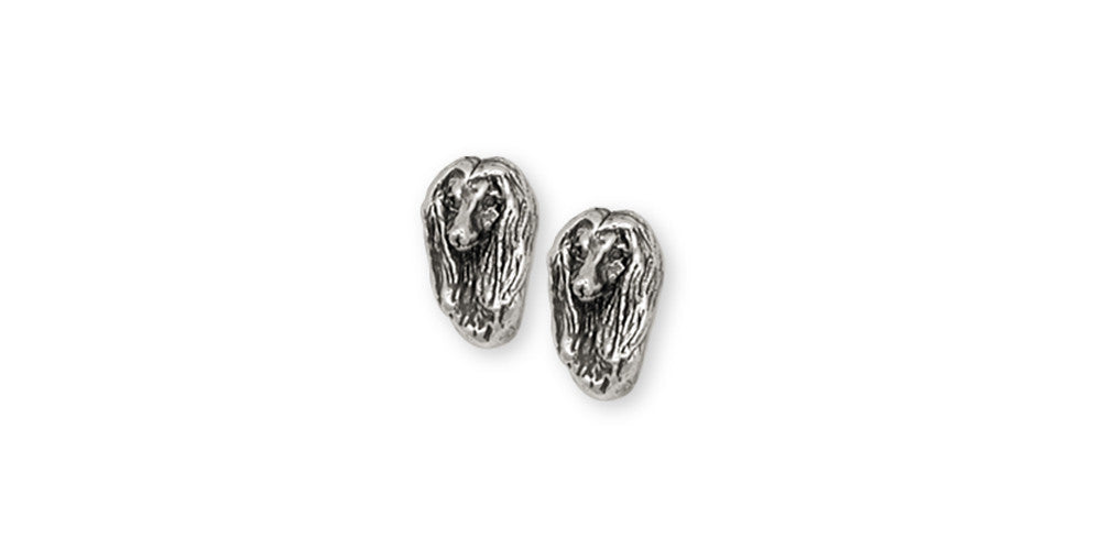 Afghan Hound Charms Afghan Hound Earrings Sterling Silver Dog Jewelry Afghan Hound jewelry