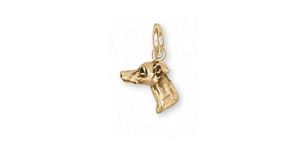 Italian Greyhound Charms Italian Greyhound Charm 14k Gold Dog Jewelry Italian Greyhound jewelry