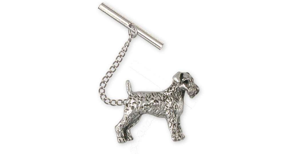 Airedale Terrier Charms Airedale Terrier Tie Tack Sterling Silver Dog Jewelry Airedale Terrier jewelry