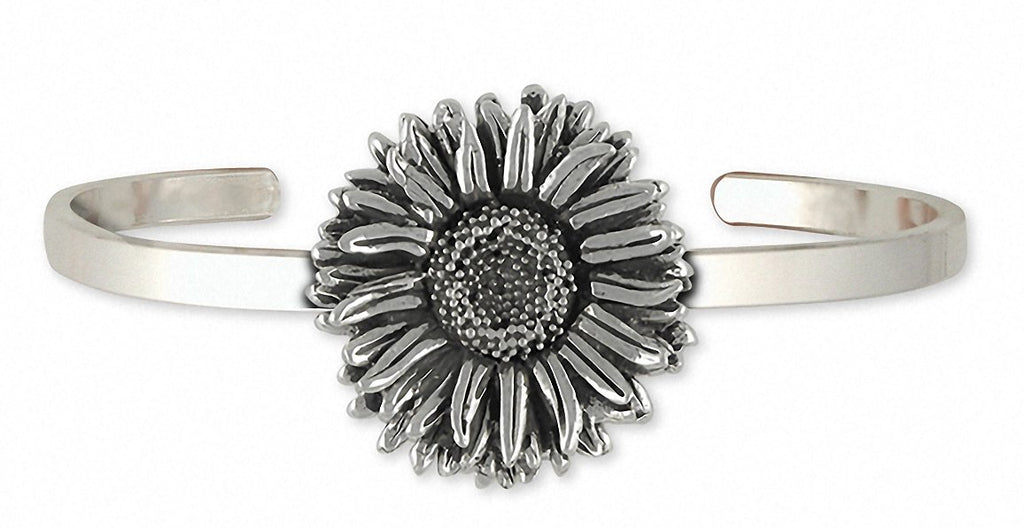 Aster Charms Aster Bracelet Sterling Silver Flower Jewelry Aster jewelry