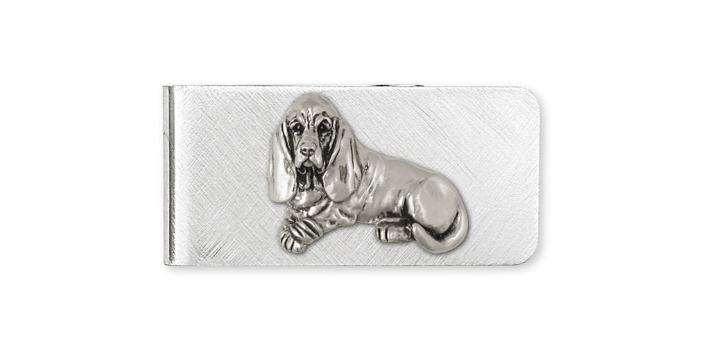 Basset Hound Charms Basset Hound Money Clip Sterling Silver Dog Jewelry Basset Hound jewelry