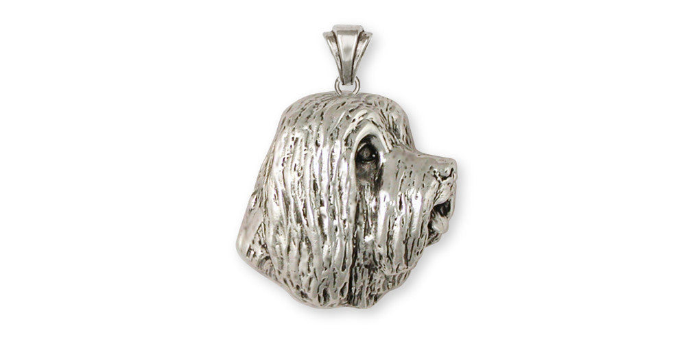 Bearded Collie Charms Bearded Collie Pendant Handmade Sterling Silver Dog Jewelry Bearded Collie jewelry
