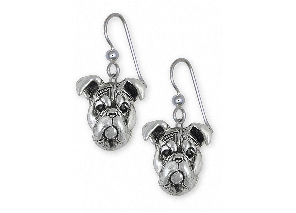 Boxer Charms Boxer Earrings Sterling Silver Boxer Jewelry Boxer jewelry