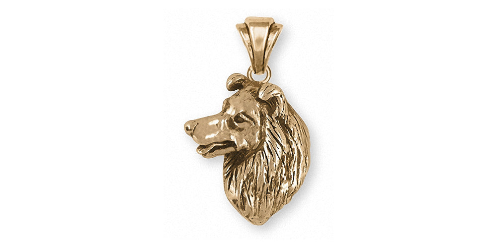 Border Collie Charms Border Collie Charm 14k Gold Dog Jewelry Border Collie jewelry