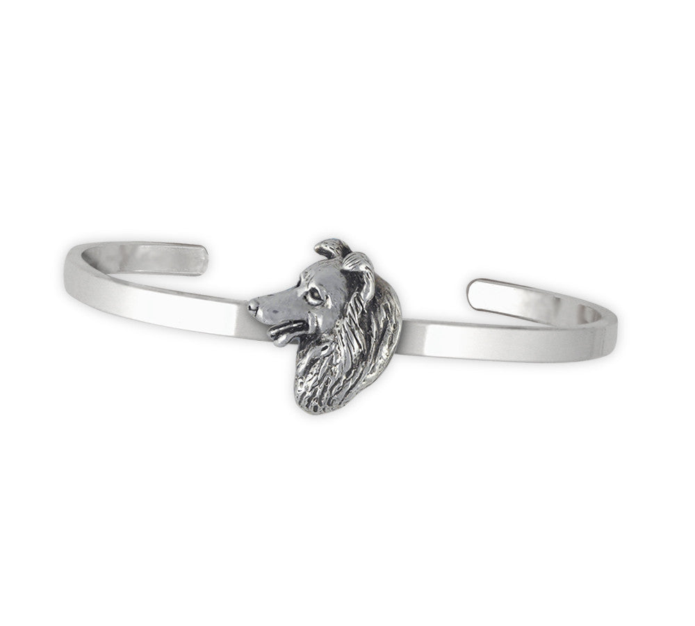 Border Collie Charms Border Collie Bracelet Sterling Silver Dog Jewelry Border Collie jewelry