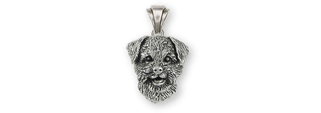 Border Terrier Charms Border Terrier Pendant Sterling Silver Border Terrier Jewelry Border Terrier jewelry