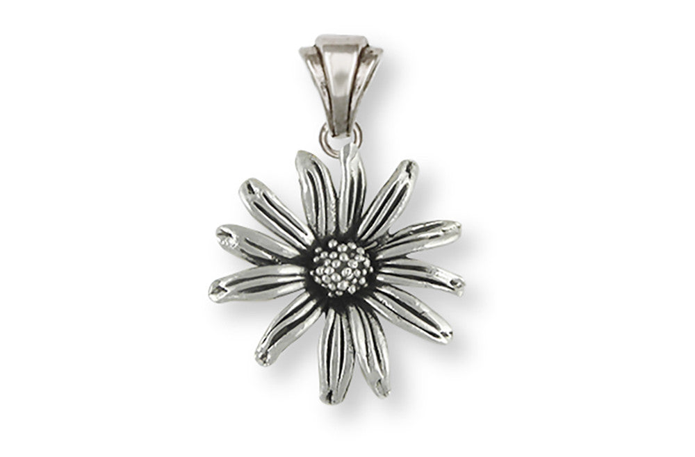 Black Eyed Susan Charms Black Eyed Susan Pendant Sterling Silver Flower Jewelry Black Eyed Susan jewelry