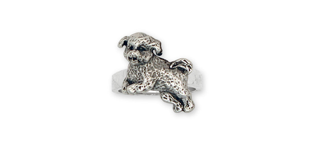 Bichon Frise Charms Bichon Frise Ring Sterling Silver Dog Jewelry Bichon Frise jewelry
