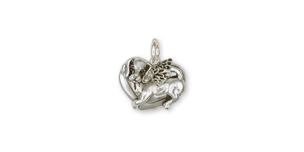 Beagle Angel Charms Beagle Angel Charm Sterling Silver Dog Jewelry Beagle Angel jewelry