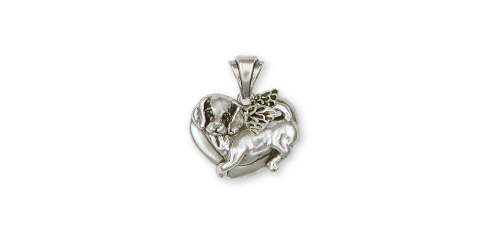 Beagle Angel Charms Beagle Angel Pendant Sterling Silver Dog Jewelry Beagle Angel jewelry
