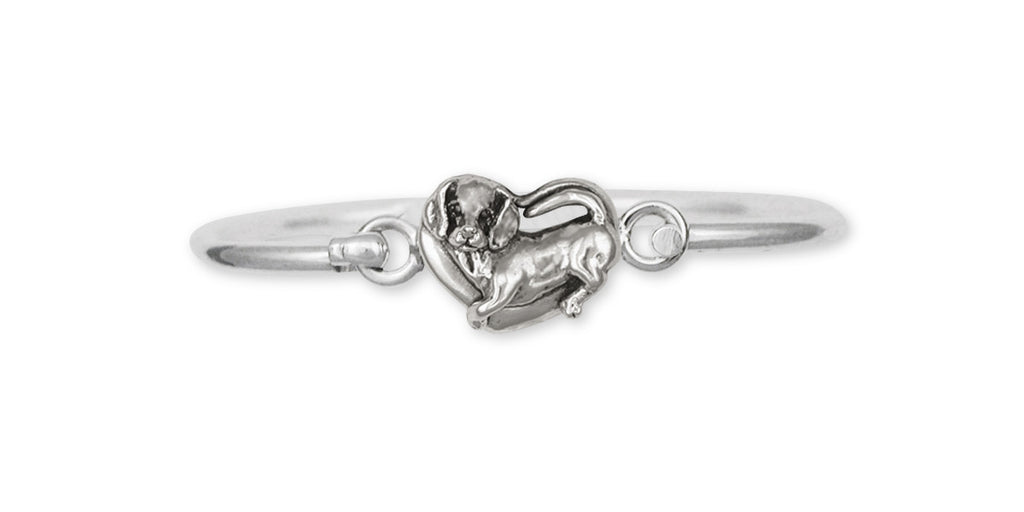Beagle Charms Beagle Bracelet Sterling Silver Dog Jewelry Beagle jewelry