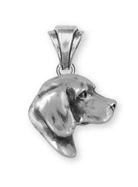 Beagle Dog Pendant Jewelry Handmade Sterling Silver  BG17-P