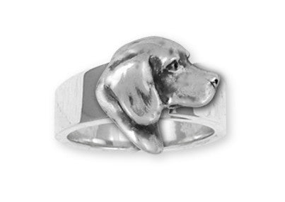 Beagle Dog Ring Jewelry Handmade Sterling Silver  BG17-R