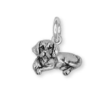 Beagle Dog Charm Jewelry Handmade Sterling Silver  BG5-C