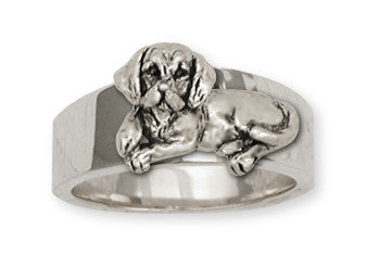 Beagle Dog Ring Jewelry Handmade Sterling Silver  BG5-R