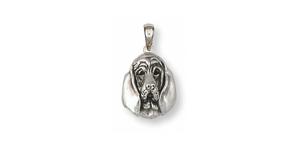 Bloodhound Charms Bloodhound Pendant Sterling Silver Dog Jewelry Bloodhound jewelry