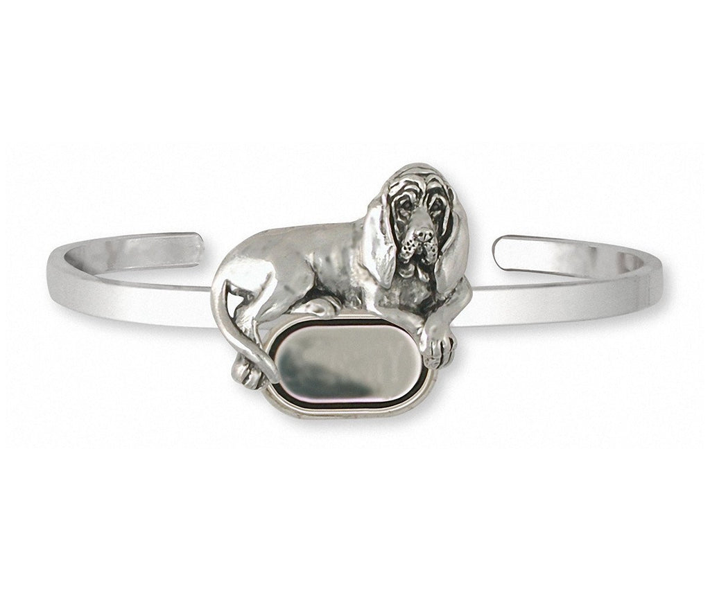 Bloodhound Charms Bloodhound Bracelet Sterling Silver Dog Jewelry Bloodhound jewelry
