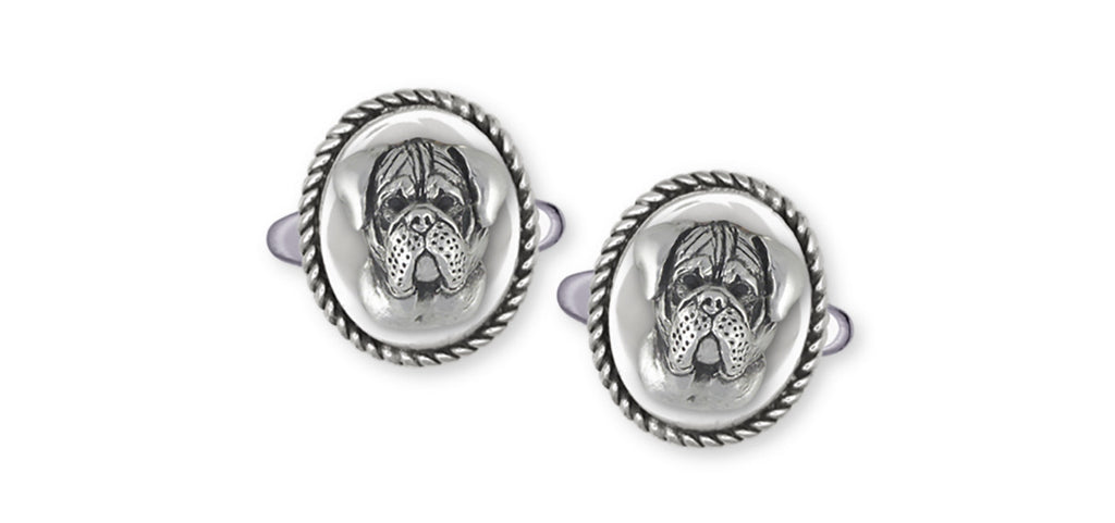 Bullmastiff Charms Bullmastiff Cufflinks Sterling Silver Dog Jewelry Bullmastiff jewelry
