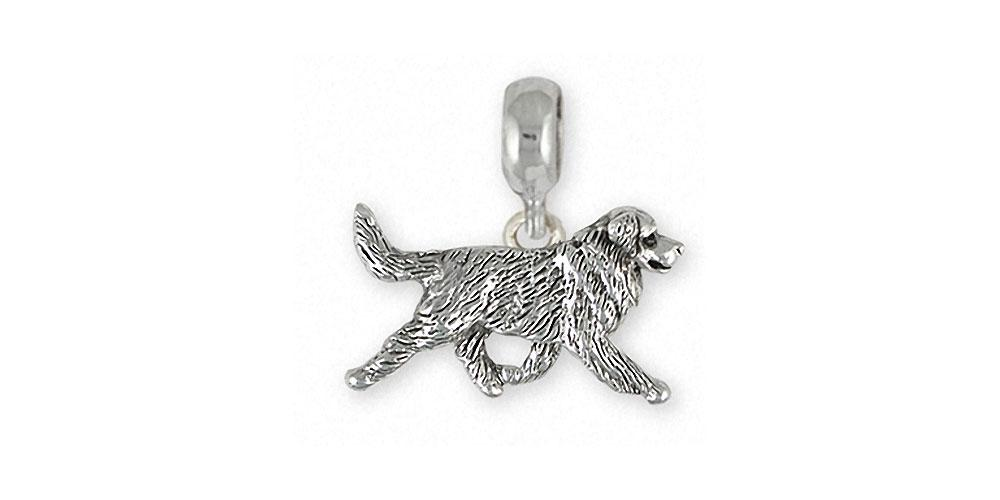 Bernese Mountain Dog Charms Bernese Mountain Dog Charm Slide Sterling Silver Dog Jewelry Bernese Mountain Dog jewelry