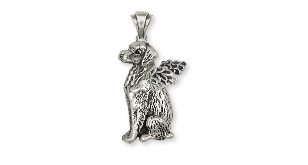 Brittany Angel Dog Charms Brittany Angel Dog Pendant Handmade Sterling Silver Dog Jewelry Brittany Angel dog jewelry