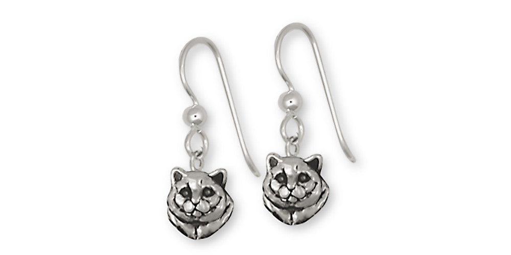 British Shorthair Charms British Shorthair Earrings Sterling Silver Cat Jewelry British Shorthair jewelry