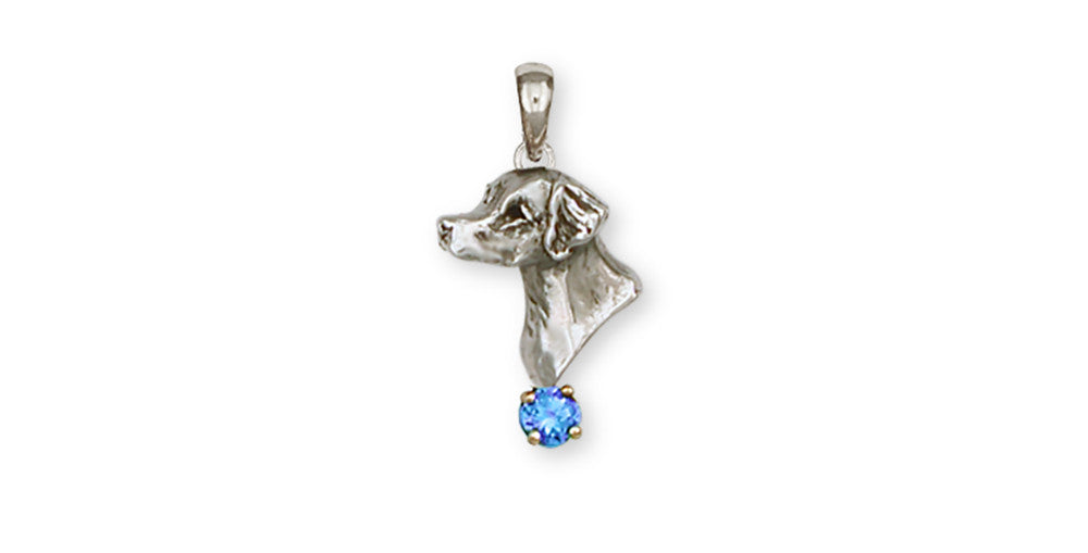 Brittany Dog Charms Brittany Dog Pendant Handmade Sterling Silver Dog Jewelry Brittany dog jewelry