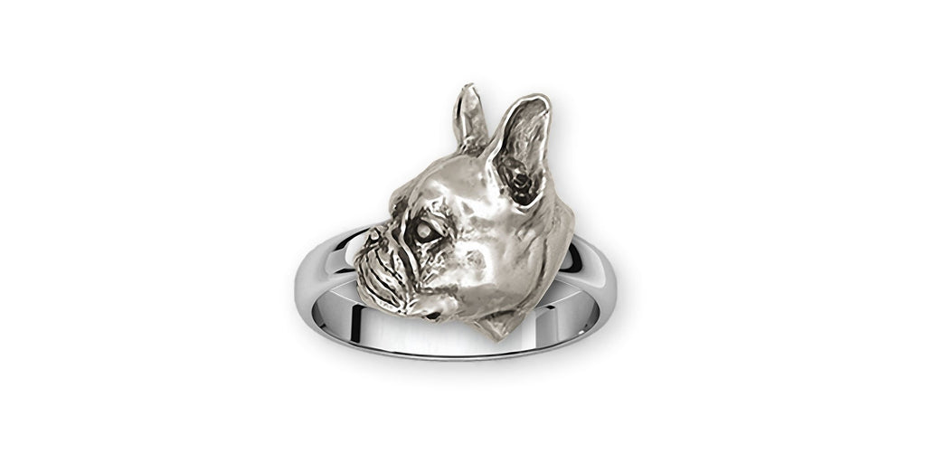 Boston Terrier Charms Boston Terrier Ring Sterling Silver Boston Terrier Jewelry Boston Terrier jewelry