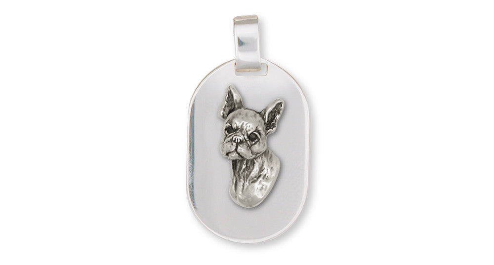 Boston Terrier Charms Boston Terrier Pendant Sterling Silver Dog Jewelry Boston Terrier jewelry