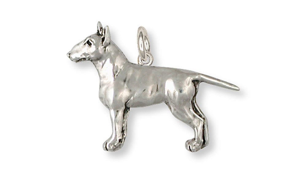 Bull Terrier Charms Bull Terrier Charm Handmade Sterling Silver Dog Jewelry Bull Terrier jewelry