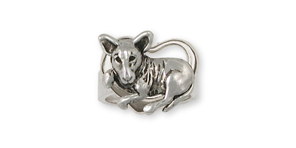 Bull Terrier Charms Bull Terrier Ring Handmade Sterling Silver Dog Jewelry Bull Terrier jewelry