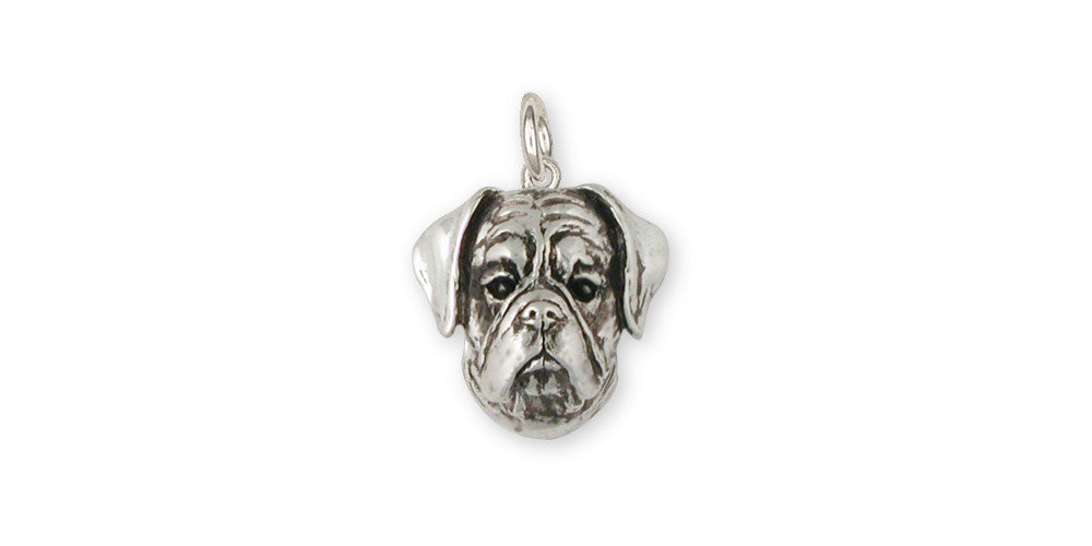 Boxer Charms Boxer Charm Sterling Silver Dog Jewelry Boxer jewelry