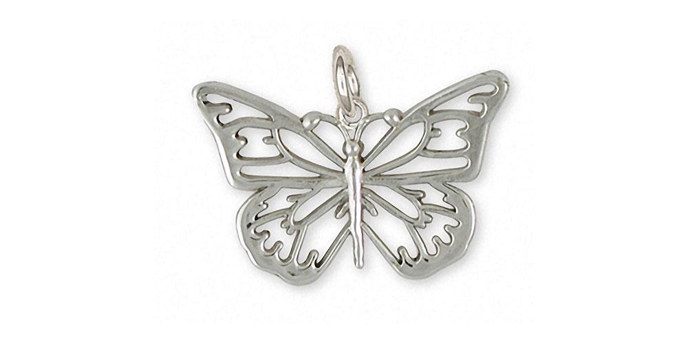 Butterfly Charms Butterfly Charm Sterling Silver Butterfly Jewelry Butterfly jewelry