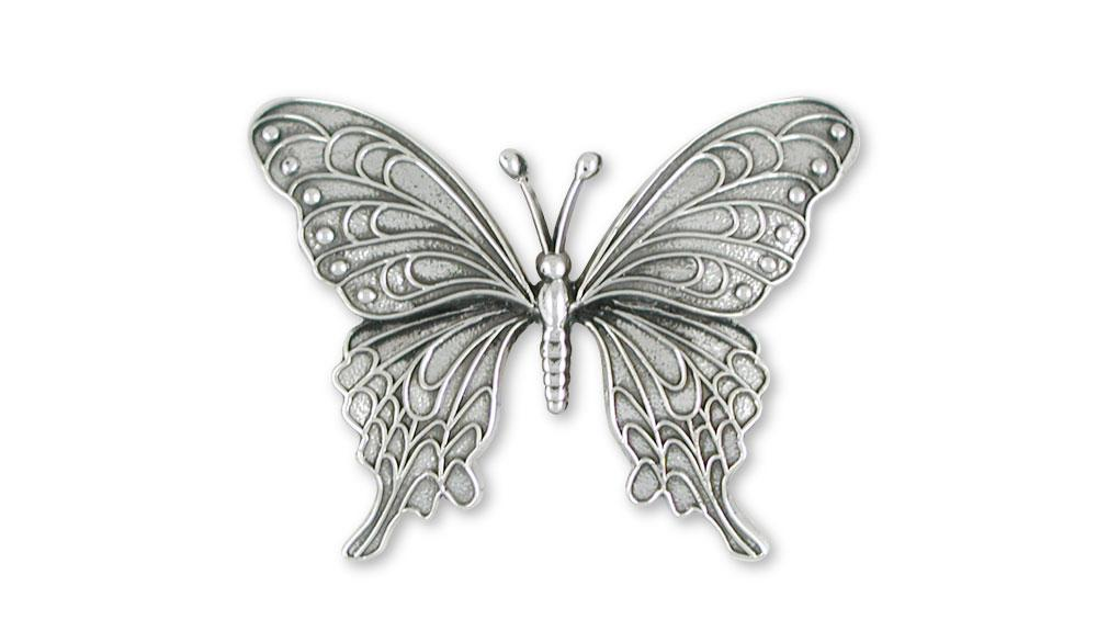 Butterfly Charms Butterfly Pendant Sterling Silver Butterfly Jewelry Butterfly jewelry