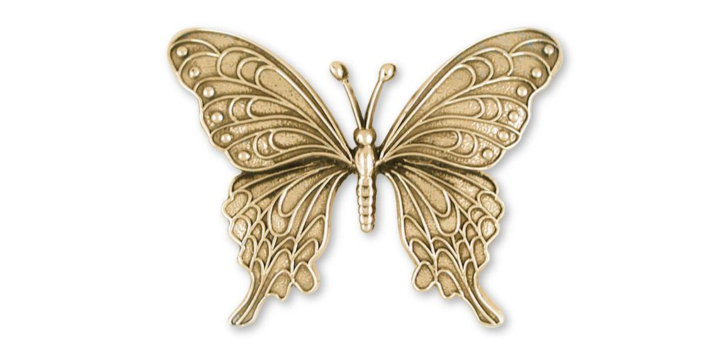 Butterfly Charms Butterfly Pendant 14k Gold Butterfly Jewelry Butterfly jewelry