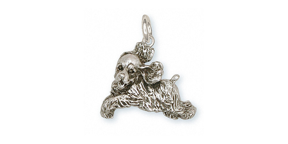 Cocker Spaniel Charms Cocker Spaniel Charm Sterling Silver Dog Jewelry Cocker Spaniel jewelry
