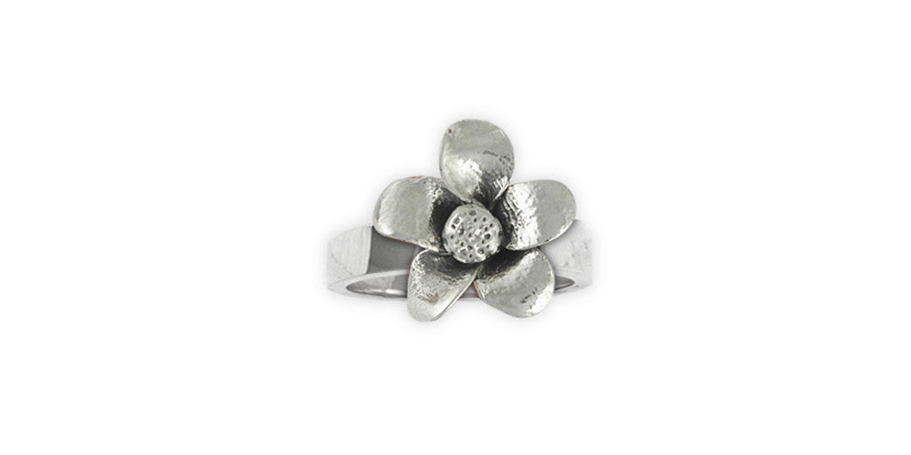 Cherry Blossom Charms Cherry Blossom Ring Sterling Silver Flower Jewelry Cherry Blossom jewelry