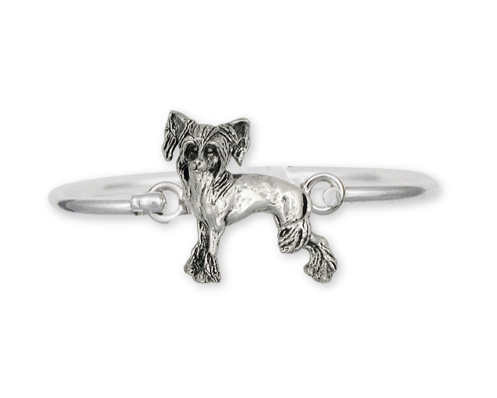 Chinese Crested Charms Chinese Crested Bracelet Sterling Silver Dog Jewelry Chinese Crested jewelry