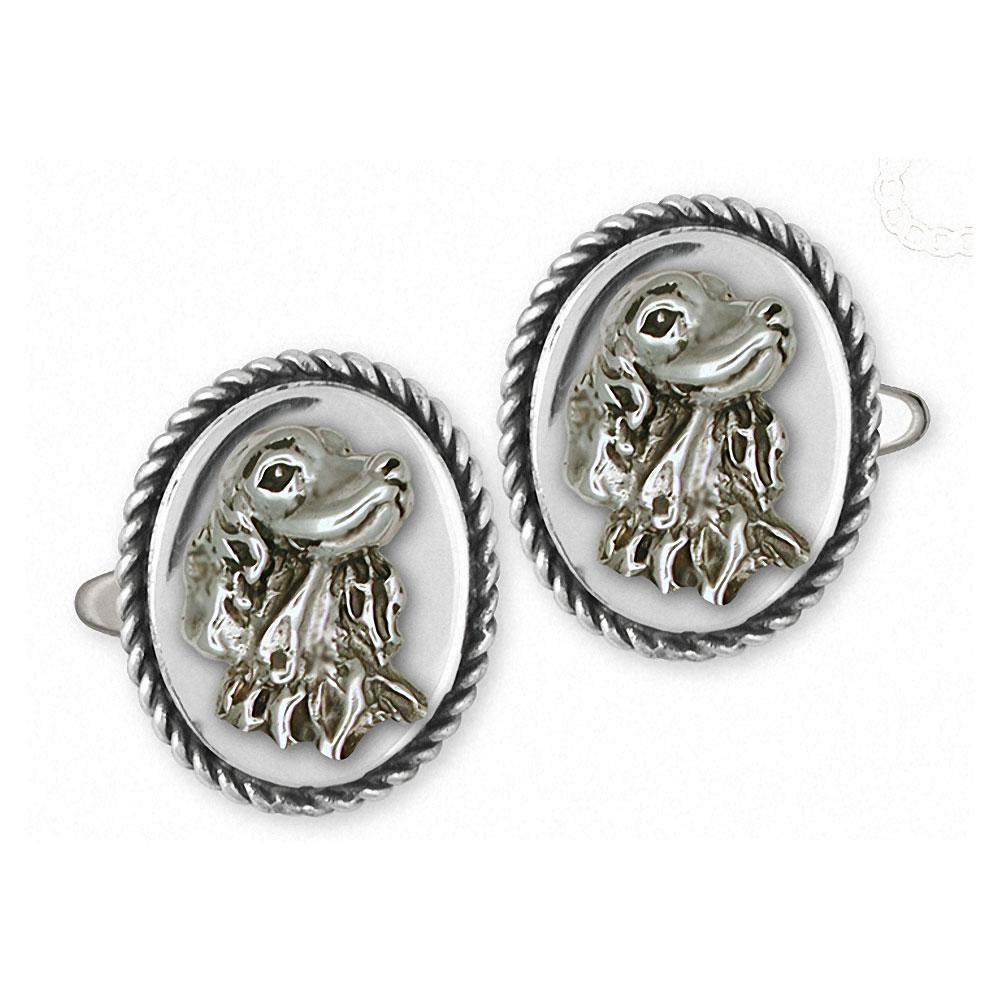 Irish Setter Charms Irish Setter Cufflinks Sterling Silver Dog Jewelry Irish Setter jewelry