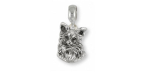 Chihuahua Charm Jewelry Sterling Silver Chihuahua Charms And Jewelry CHW7-C
