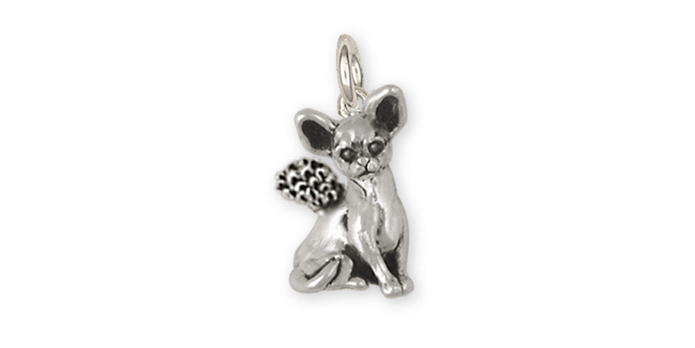 Chihuahua Angel Charms Chihuahua Angel Charm Sterling Silver Dog Jewelry Chihuahua Angel jewelry