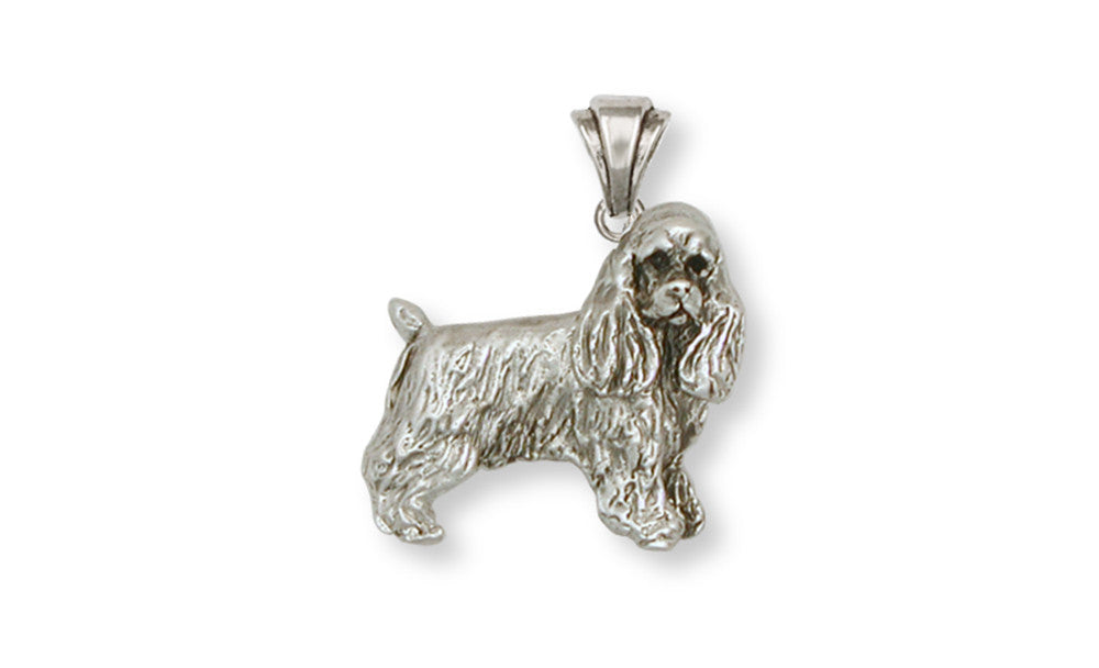 Cocker Spaniel Charms Cocker Spaniel Pendant Handmade Sterling Silver Dog Jewelry Cocker Spaniel jewelry