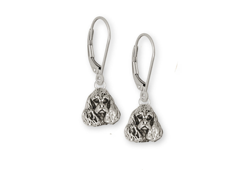 Cocker Spaniel Charms Cocker Spaniel Earrings Handmade Sterling Silver Dog Jewelry Cocker Spaniel jewelry