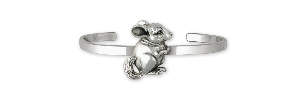 Chinchilla Charms Chinchilla Bracelet Sterling Silver Chinchilla Jewelry Chinchilla jewelry