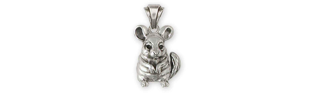 Chinchilla Charms Chinchilla Pendant Sterling Silver Chinchilla Jewelry Chinchilla jewelry