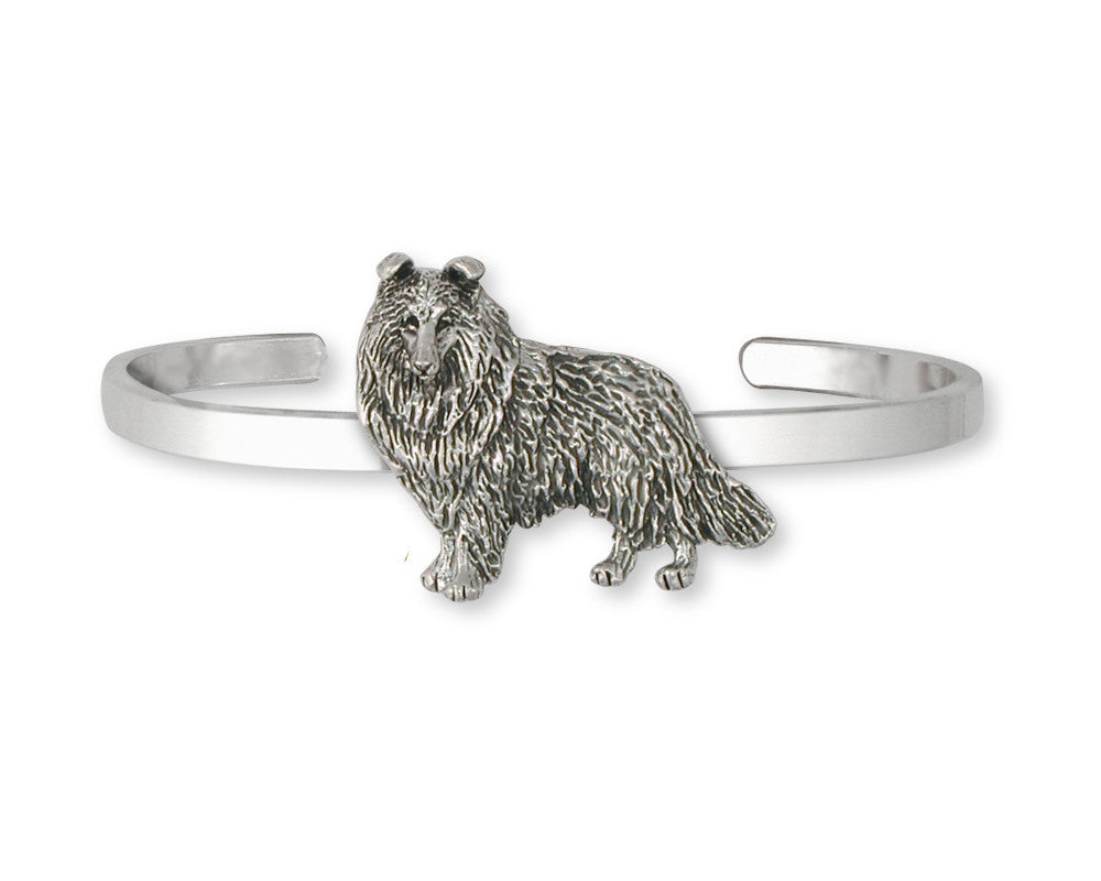 Collie Charms Collie Bracelet Sterling Silver Dog Jewelry Collie jewelry