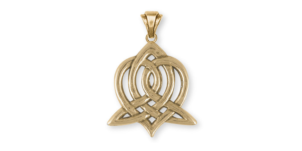 Sister Celtic Knot Charms Sister Celtic Knot Pendant 14k Gold Celtic Knot Jewelry Sister Celtic Knot jewelry