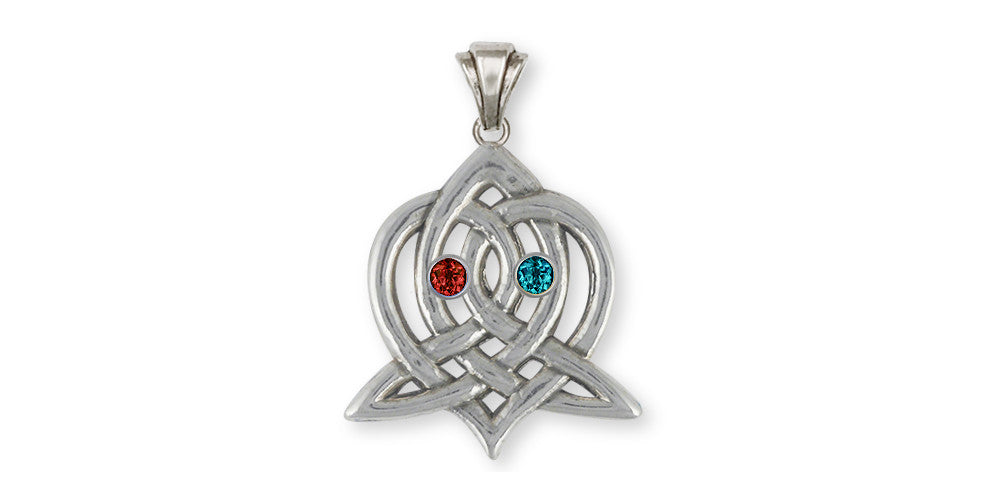 Sister Celtic Knot Charms Sister Celtic Knot Pendant Sterling Silver Celtic Knot Jewelry Sister Celtic Knot jewelry