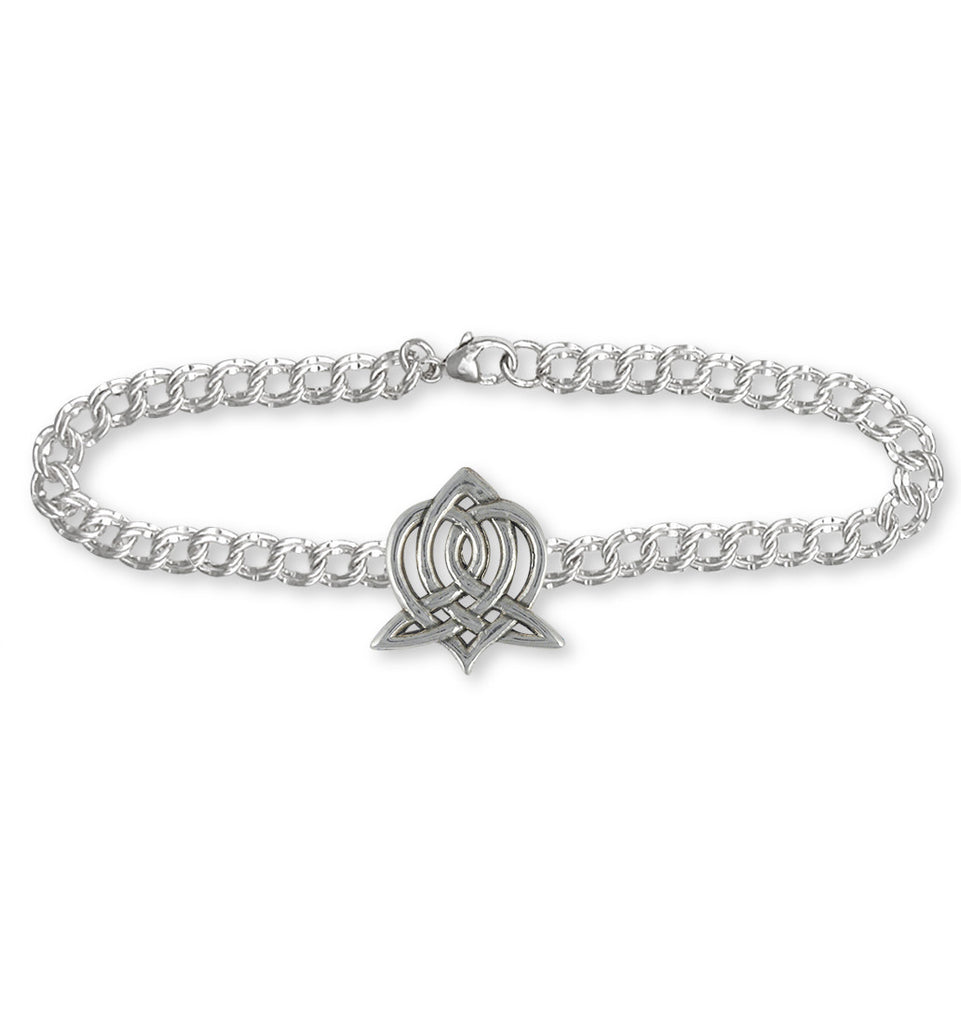 Sister Celtic Knot Charms Sister Celtic Knot Bracelet Sterling Silver Celtic Knot Jewelry Sister Celtic Knot jewelry