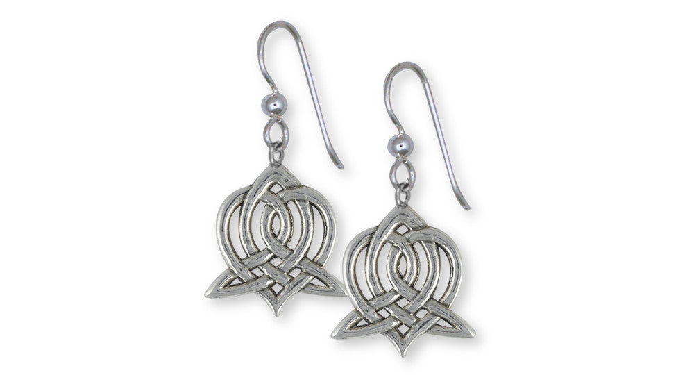 Sister Celtic Knot Charms Sister Celtic Knot Earrings Sterling Silver Celtic Knot Jewelry Sister Celtic Knot jewelry
